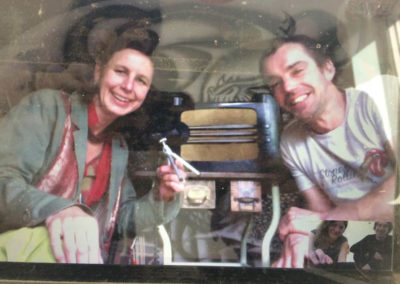 LBB_Tara & Bart de Wolf skype with SVA Jo & Dan