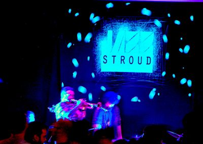 Ariwo Jazz Stroud logo
