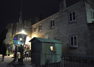 Hut at night Jazz Stroud