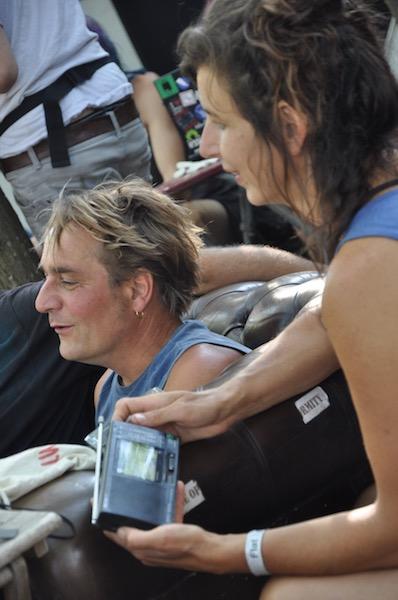 Bart & Tara in radio glade Jetlag Festival