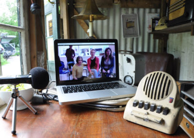 Radio Hut Live Skype link between ADM Amsterdam & SVA Stroud to participate in artist's talk as part of SITE18 programme