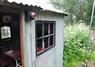 Radio Hut on banks of ADM