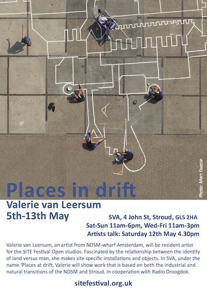 Places In Drift / Radio Droogdok flyer