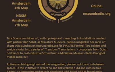 Radio Droogdok / Places In Drift flyer